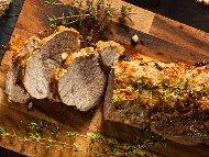 Рецепта Свинско контра филе с меден сос